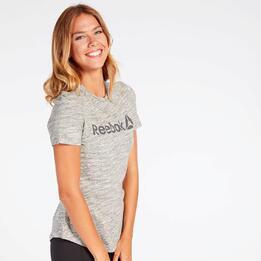 Camiseta Reebok Gris