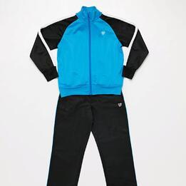 Chándal Niño Azul Negro Acetato Up (2-8)