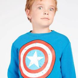 Chandal Capitán América Gris Niño (2-8)