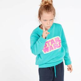 Chándal Star Wars Niña Turquesa (10-16)