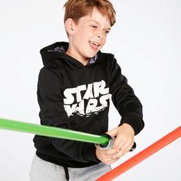 Sudadera Star Wars Niño Negra (10-16)