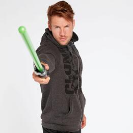 Sudadera Star Wars Gris Oscuro Hombre