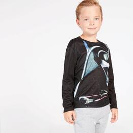 Camiseta Star Wars Negra Niño (2-8)
