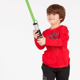 Camiseta Star Wars Roja Niño (2-8)