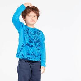 Camiseta Marvel Azul Niño (2-8)