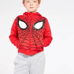 Sudadera Spiderman Roja Niño (2-8)