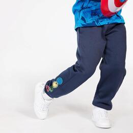 Pantalón Marvel Azul Marino Niño (2-8)