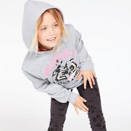 Sudadera Mickey Gris Niña (10-16)