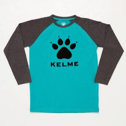 Camiseta Kelme Turquesa Junior