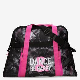 Bolsa Deporte Negra Rosa Ilico Danza