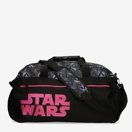 Bolsa Deporte Star Wars Gris Fucsia