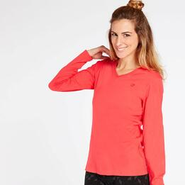 Camiseta Pico Rojo Up Basic