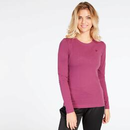 Camiseta Morado Up Basic