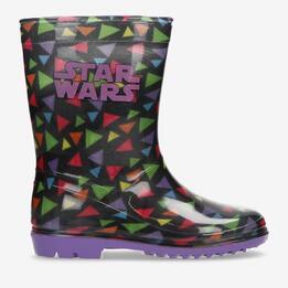 Botas Agua Star Wars Negras Niña (28-35)