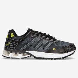 Zapatillas Running Negras Hombre Ipso Track