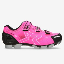 Zapatillas Ciclismo Rosas Mitical