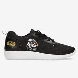 Zapatillas Trooper Star Wars Negras Niño (28-35)