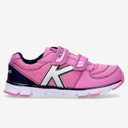 Zapatillas Running Kelme Velcro Rosa (28-35)
