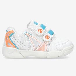 Zapatillas Tenis Blancas Niña Proton (22-27)