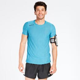 Camiseta Running LUANVI Azul Hombre
