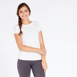 Camiseta Blanca Mujer Up