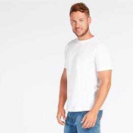 Camiseta Blanca Hombre Up Basic