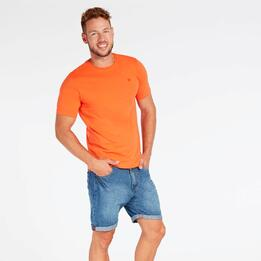 Camiseta Naranja Hombre Up Basic