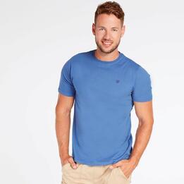 Camiseta Azul Denim Hombre Up Basic