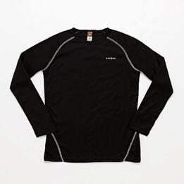 Camiseta Interior Negra Niña Boriken