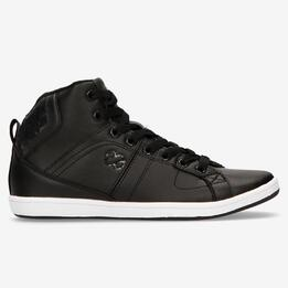 Zapatillas Bota Negras Silver