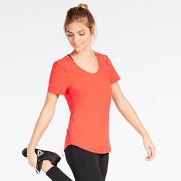 Camiseta Naranja Reebok Work