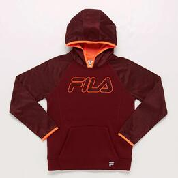 Sudadera Fila Junior Granate