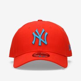 Gorra Yankees Roja Hombre New Era