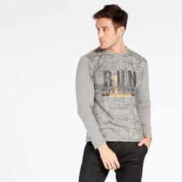 Camiseta Gris Silver Tineo