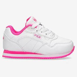 Zapatillas Fila Cress Blancas Niña (22-27)
