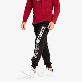 Pantalón Jogger Negro Russel Athletic