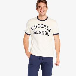 Camiseta Beige Russell Athletic