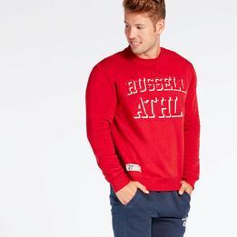 Sudadera Roja Russell Athletic