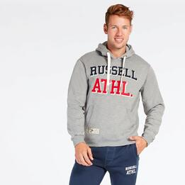 Sudadera Gris Russell Athletic