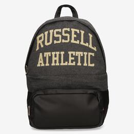 Mochila Negra Gris Russell Athletic