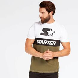Camiseta Kaki Starter