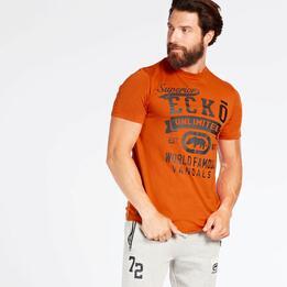 Camiseta Naranja Ecko Davante