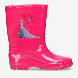 Bota Agua Elsa Frozen Fucsia Junior