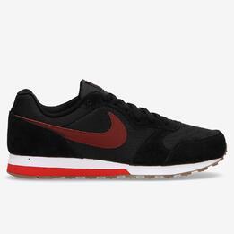Zapatillas Nike Negro Morado Niño