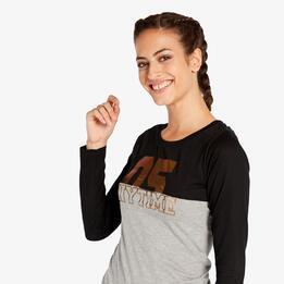 Camiseta Negra Silver Allande