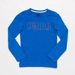 Camiseta Puma Azul Junior