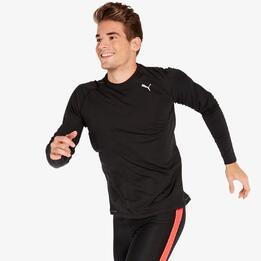 Camiseta Running Puma Negra