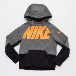 Sudadera Nike Gris Junior