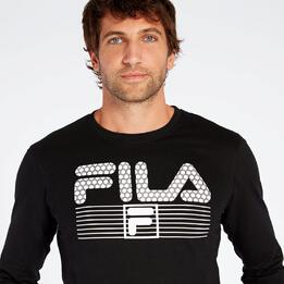 Camiseta Fila Negro