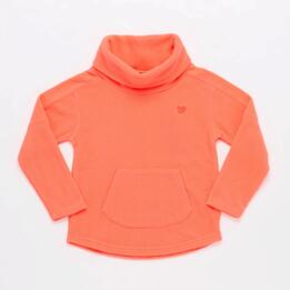 Forro Polar Cuello Alto Coral Junior